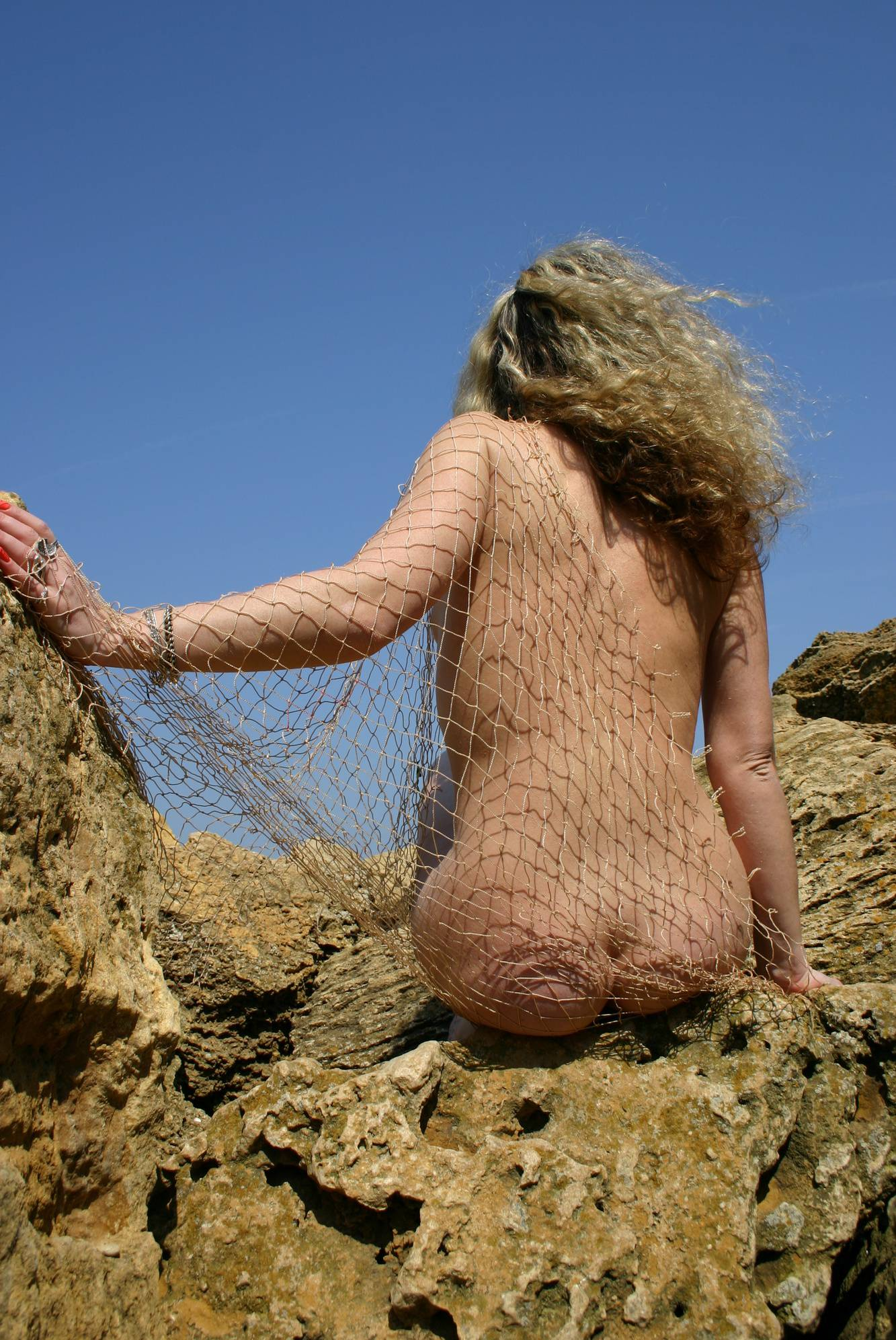 Mother Nude Mountain Net - 1