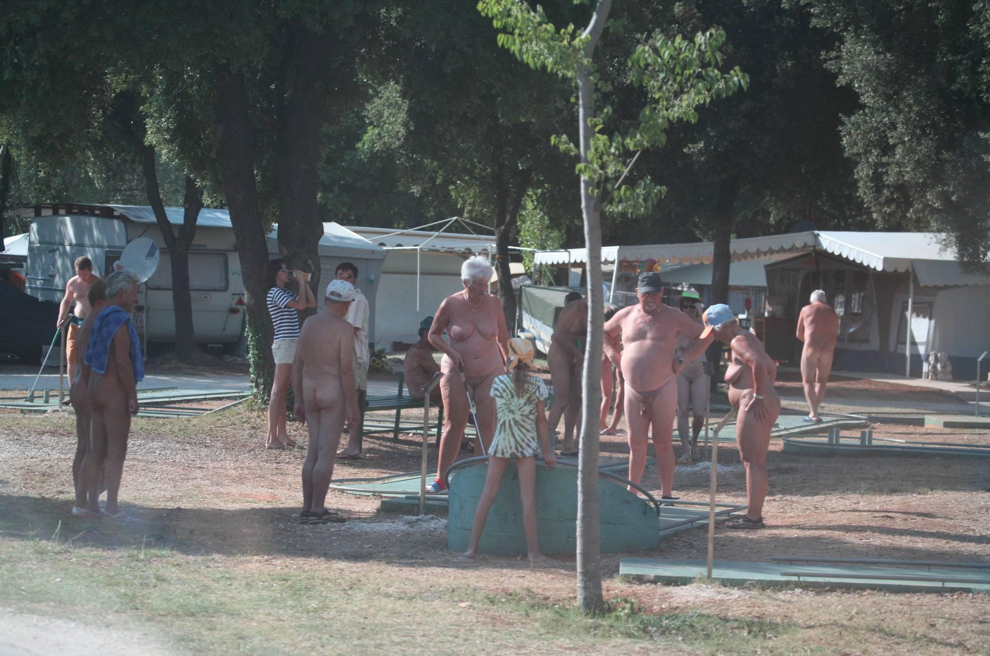 Nudist Gallery Nora FKK Miniature Golf - 2