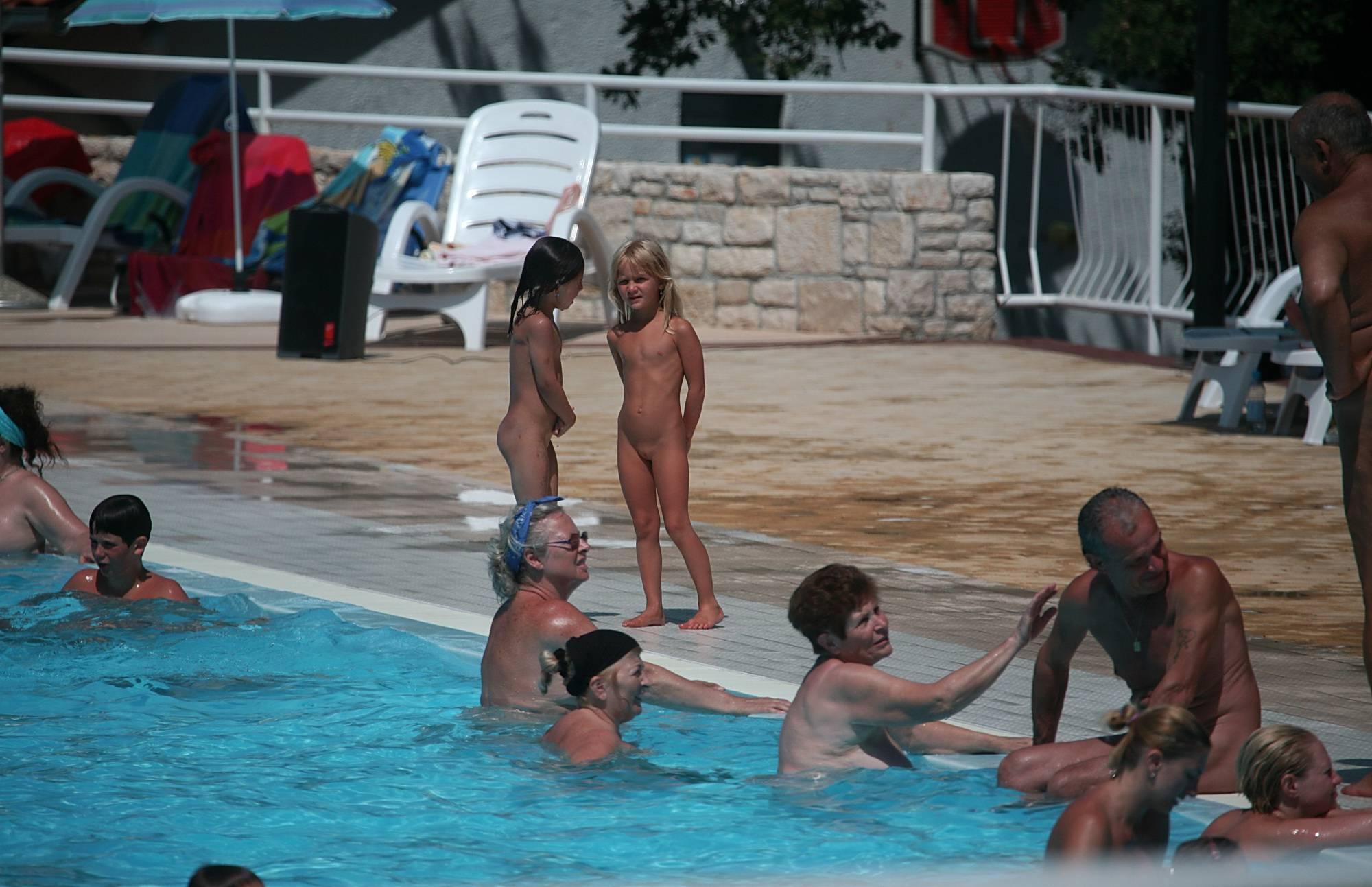 Pool Area Water Scenery - 1