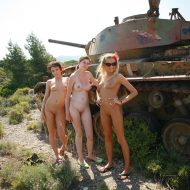 Greek Military Tank Gals
