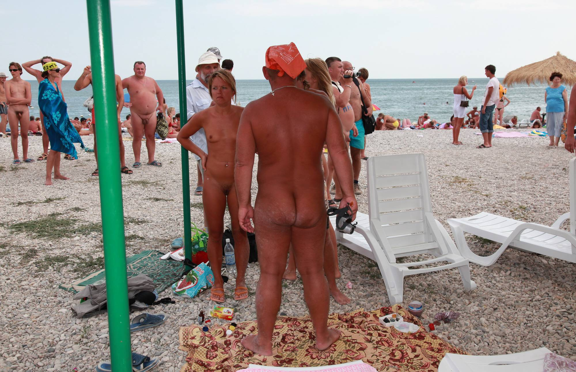 Nudist Pics Painting and Assortments - 2