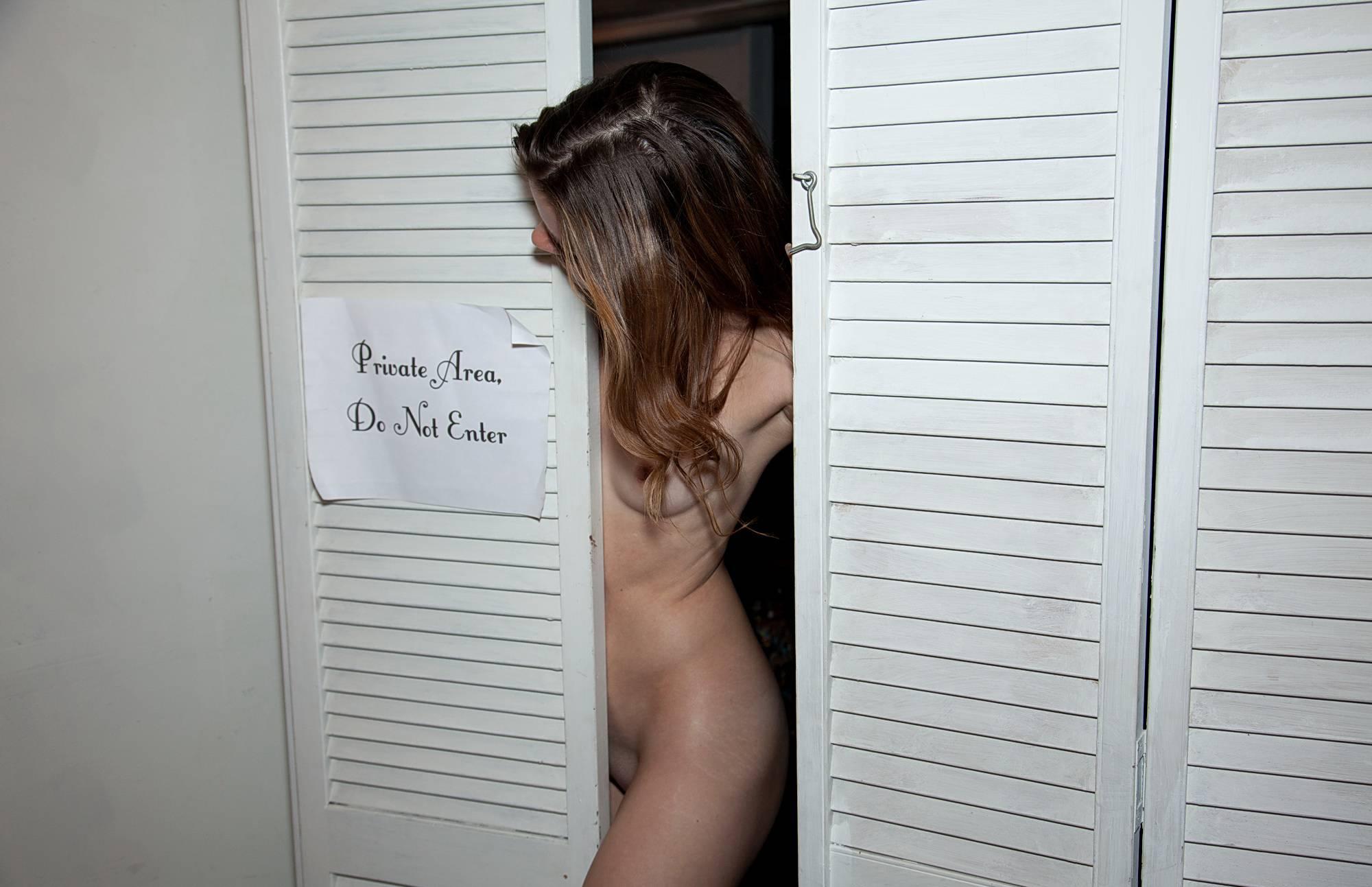 Nudist Pictures Basement Clown Painting - 2