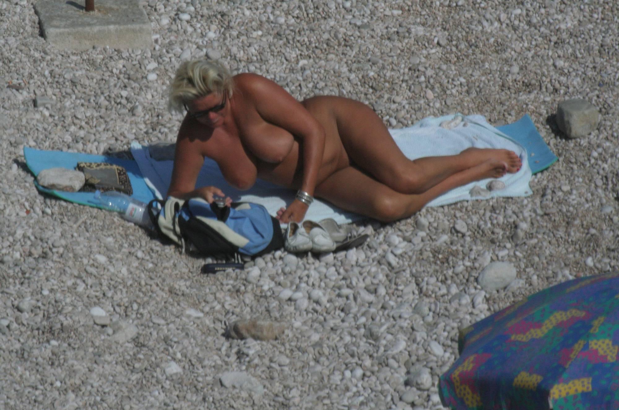Croatian Baska Beach Day - 1