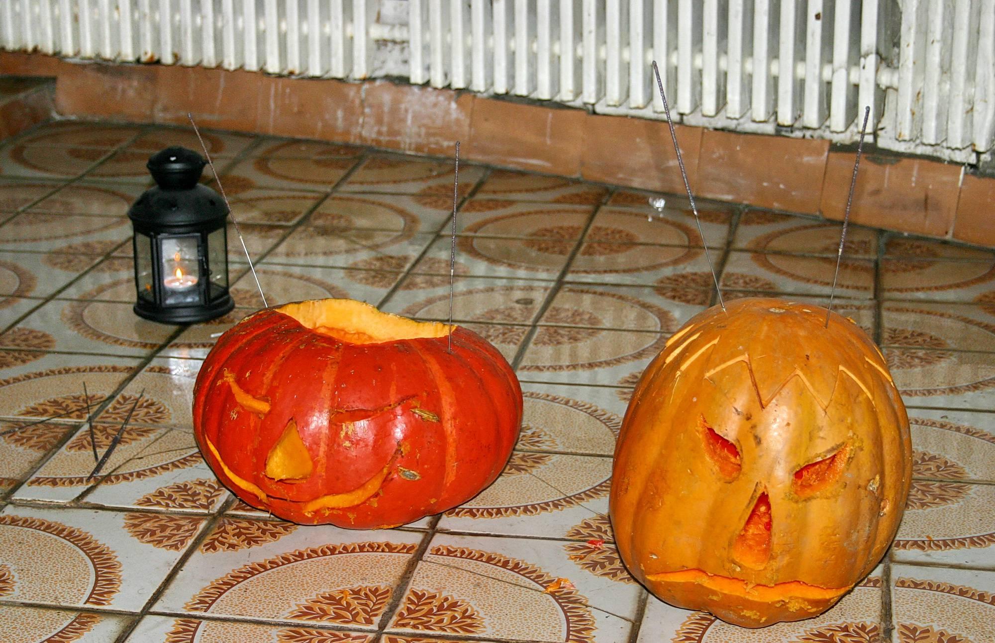 Nudist Pictures Halloween Boys Pumpkin - 1