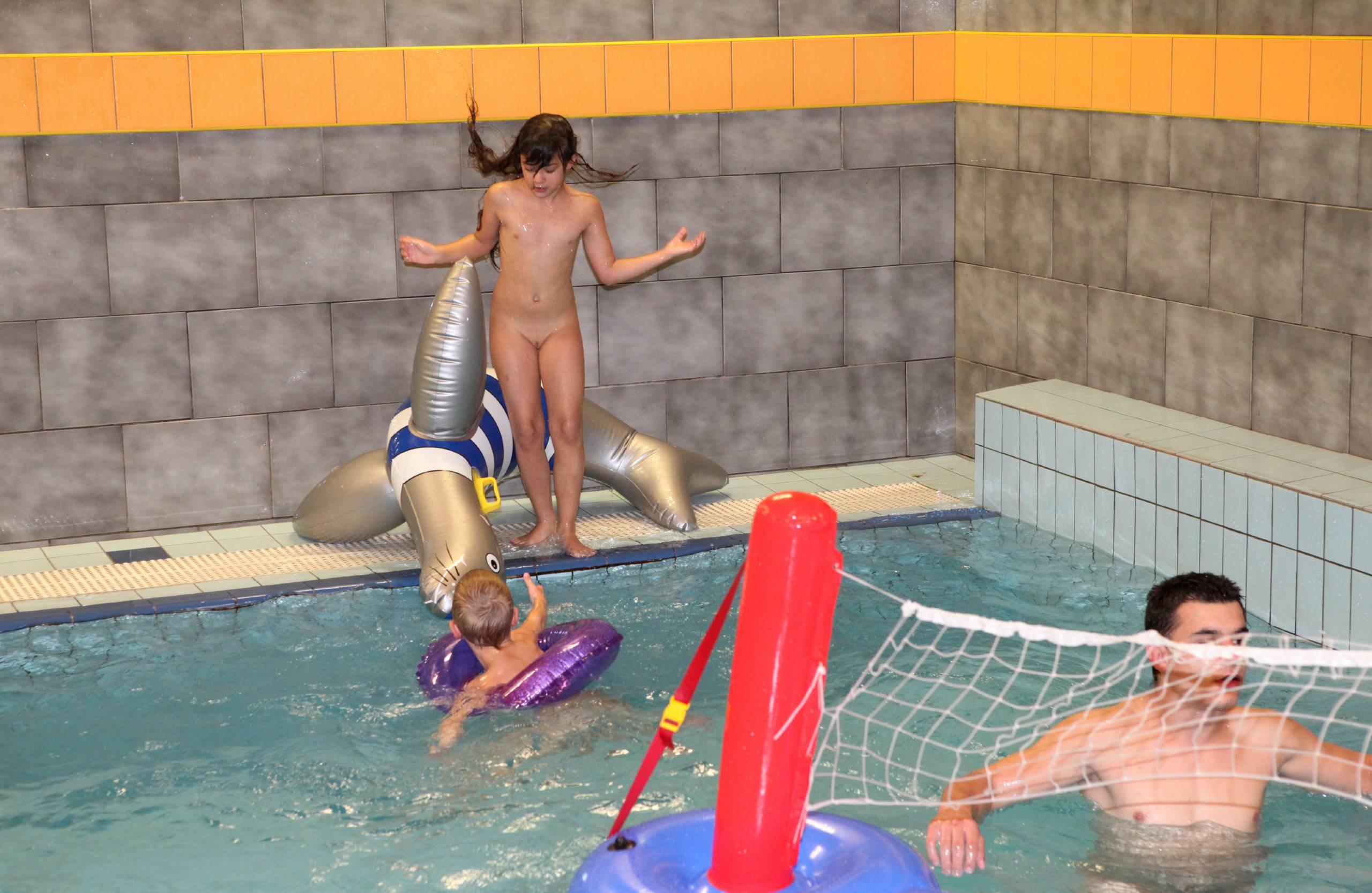 Nudist Photos Indoor Swimming Pool - 1