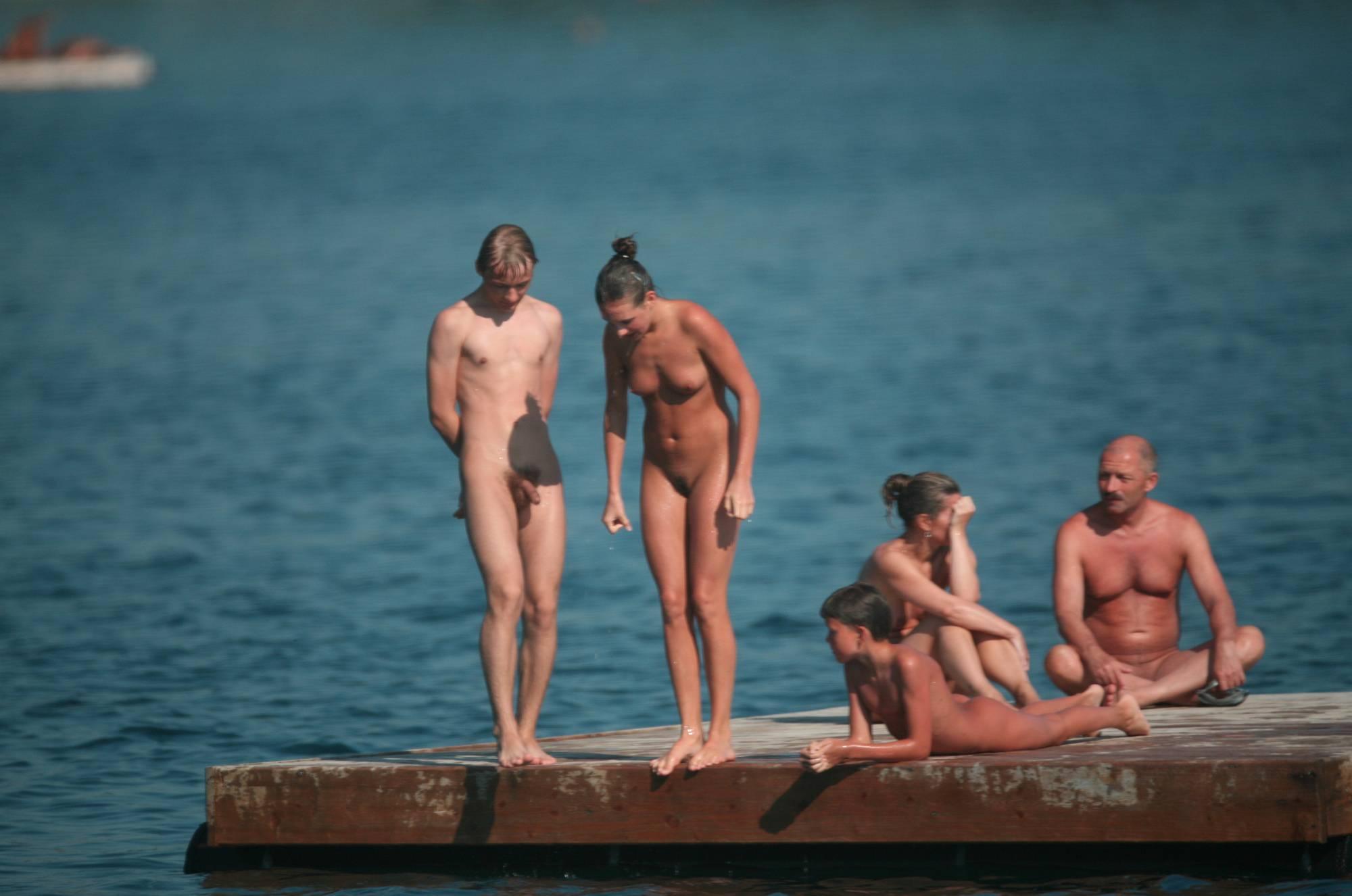 Nudist Pics Naturist Family Water Slab - 1