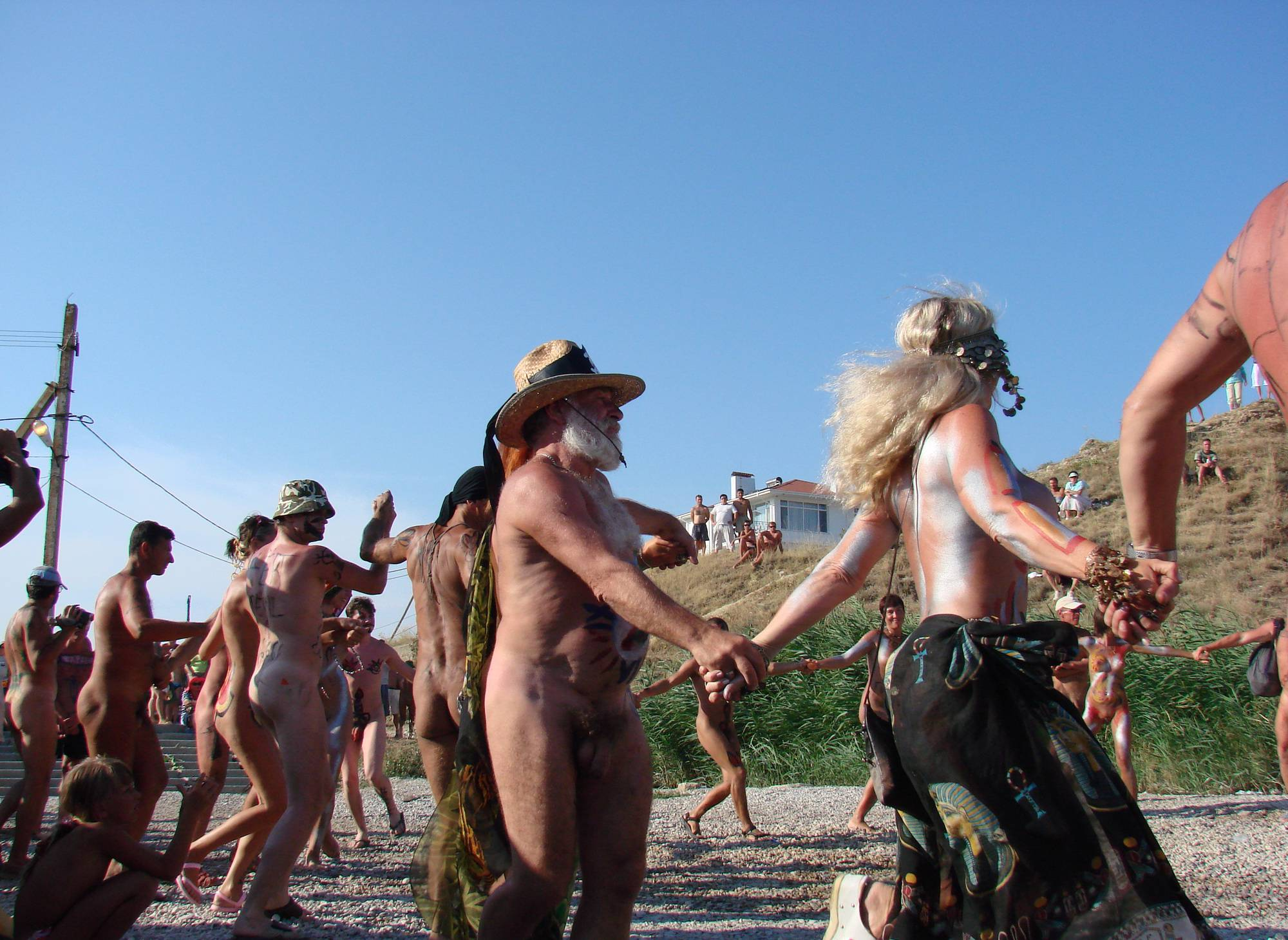 Nudist Pictures Neptune Day Dance Shot - 2