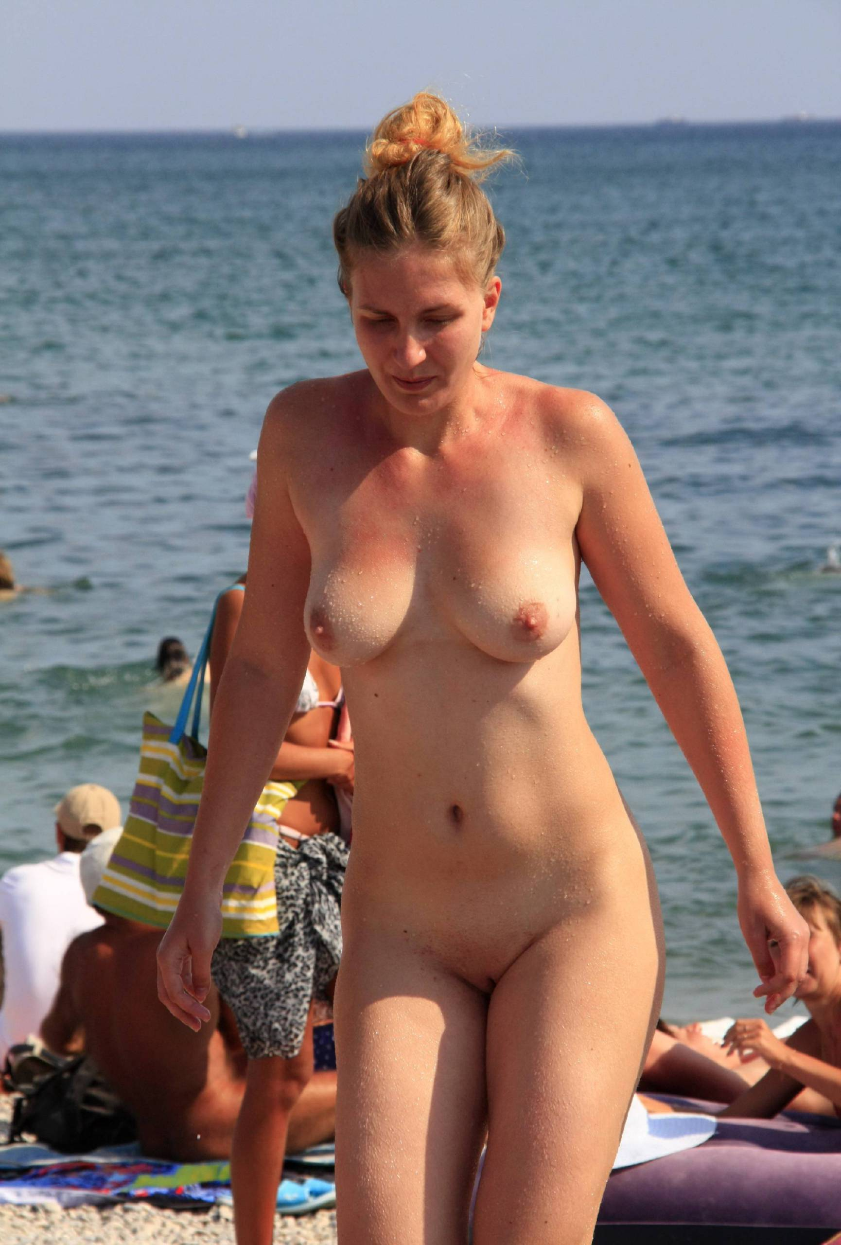 Nudist Gallery Sand Beach Get Up and Go - 1