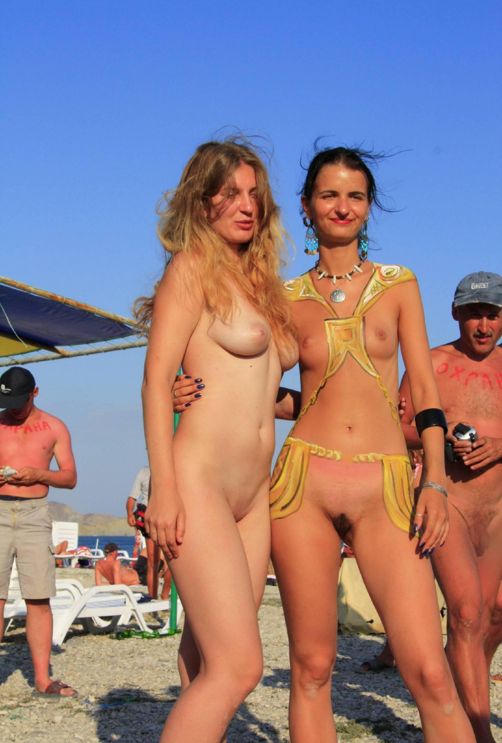 Nudist Photos Festival Evening Grouping - 2