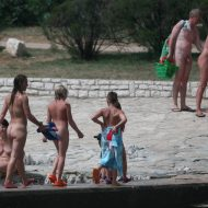 Naturist Youngster Bridge