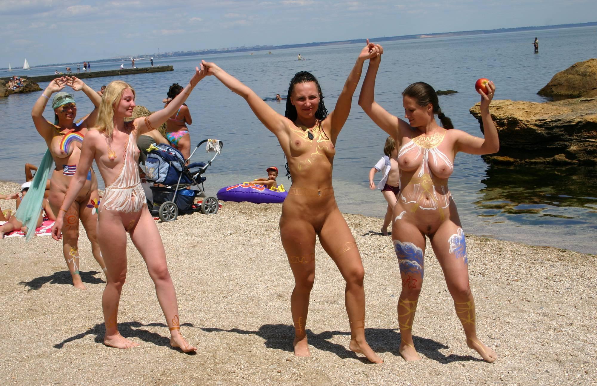 Nudist Pics Odessa Bodypaint Profiles - 2
