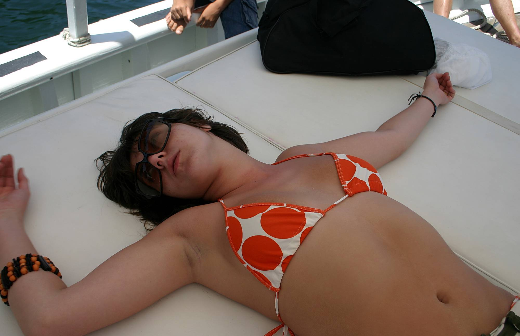 Nudist Pictures On-Boat Relaxation Shots - 2