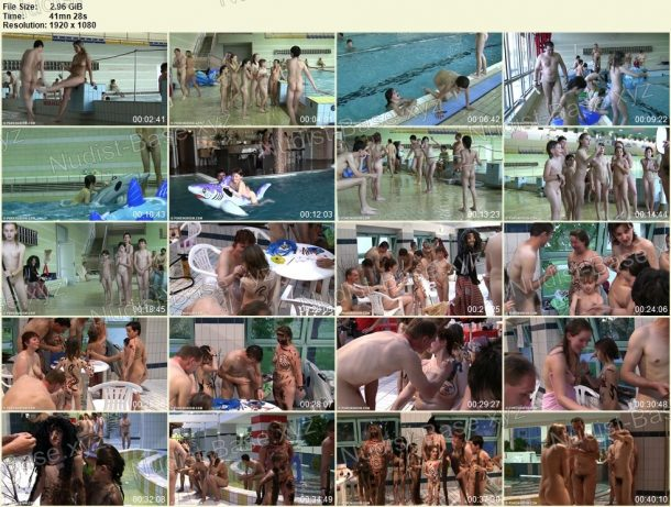 Naturist Pool and Games - frames 1