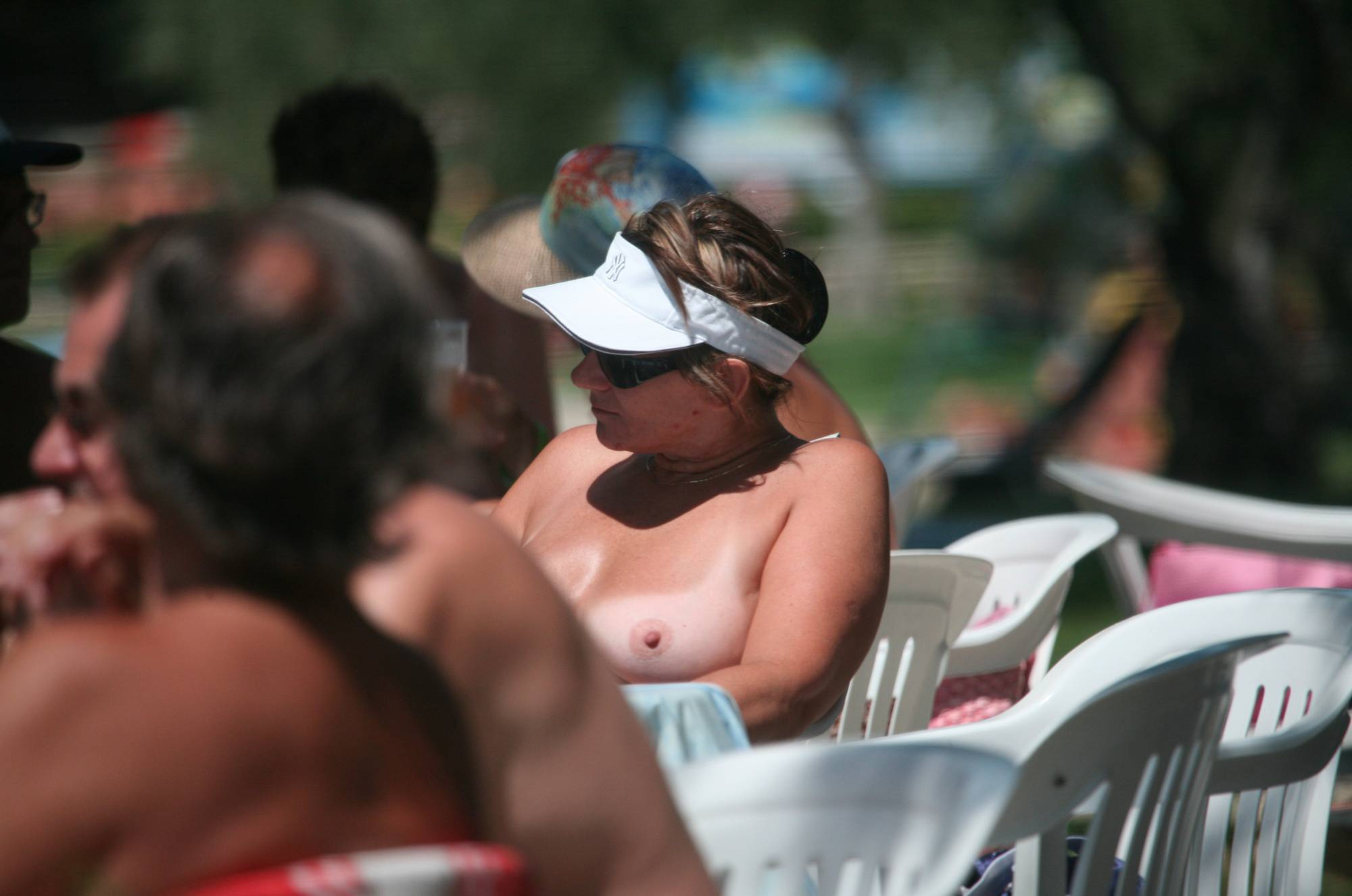 Nudist Pics Pier FKK Outdoor Dinning - 1