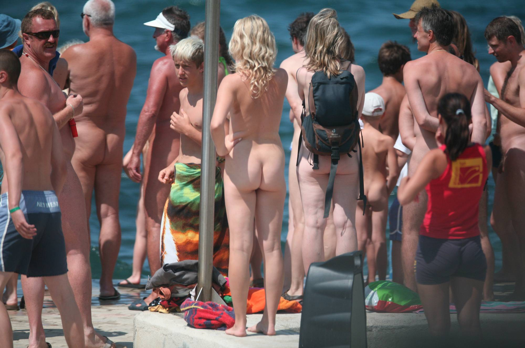 Nudist Gallery Pier Sand Square Group - 2