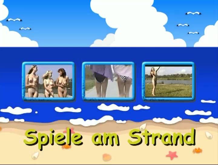Spiele am Strand - Poster