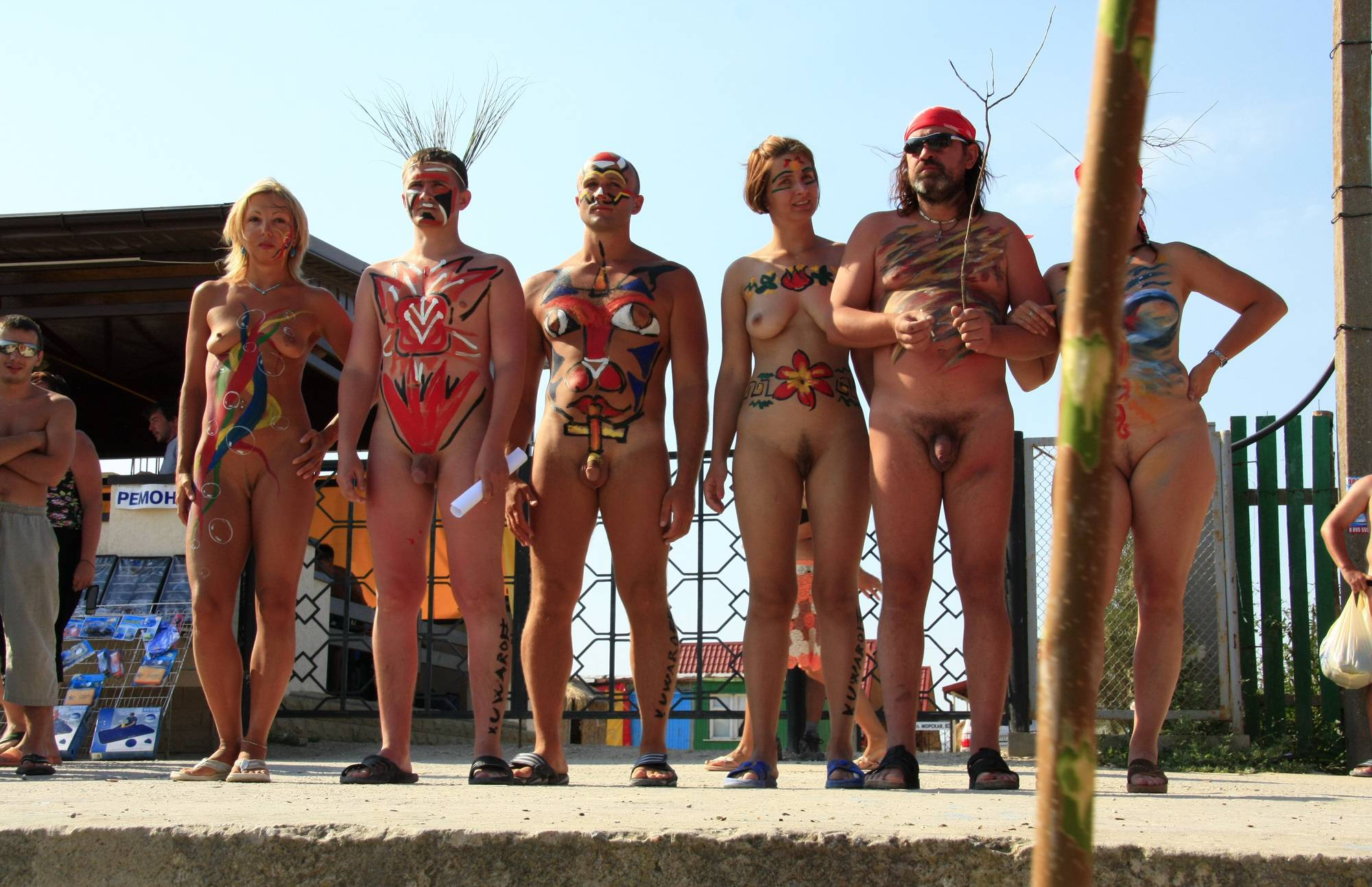 Nudist Photos Strong and Bold We Stand - 2