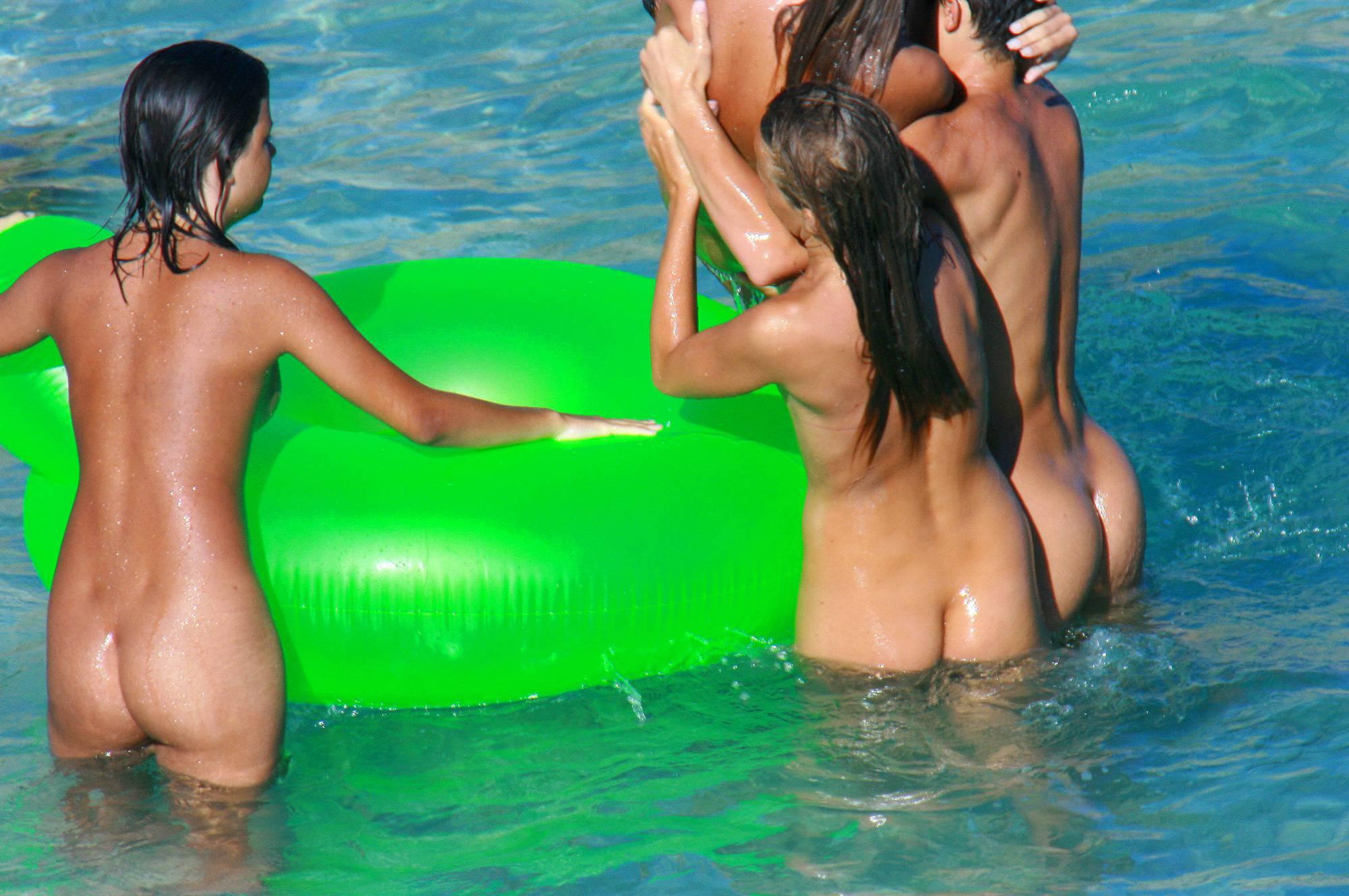 Nudist Photos Uka FKK Water Floater Fun - 2