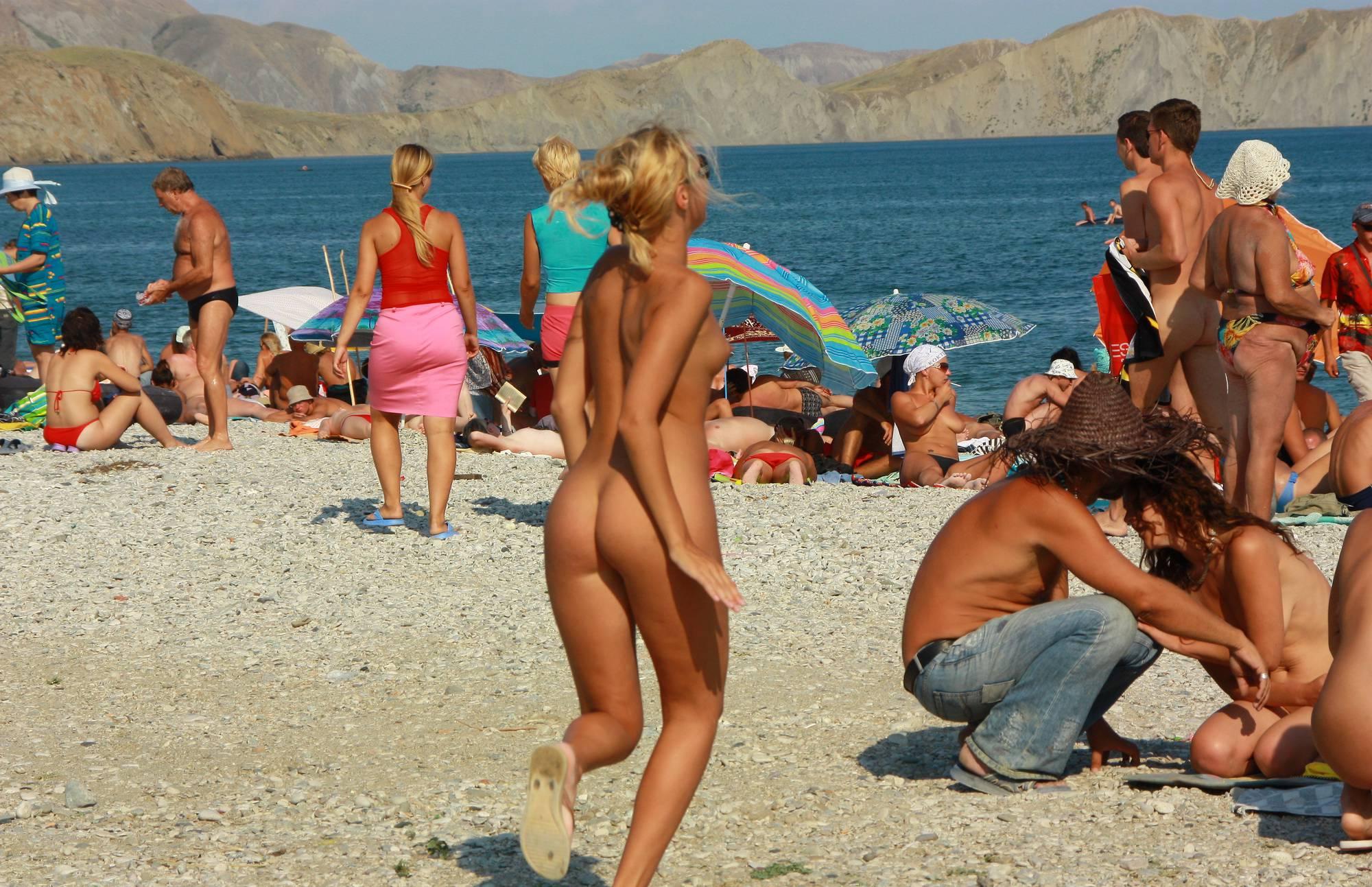 Nudist Photos Ukraine Beach Girlfriends - 1