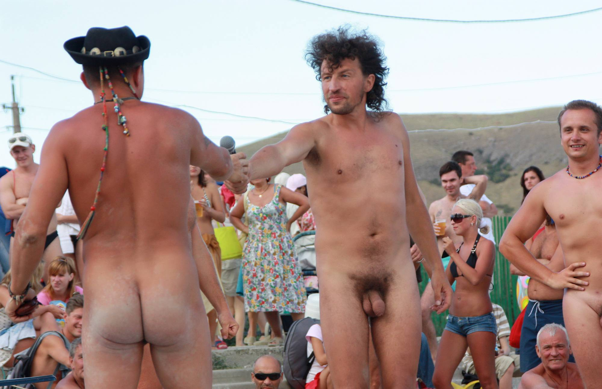 Nudist Photos Ukrainian Men Day Lineup - 1