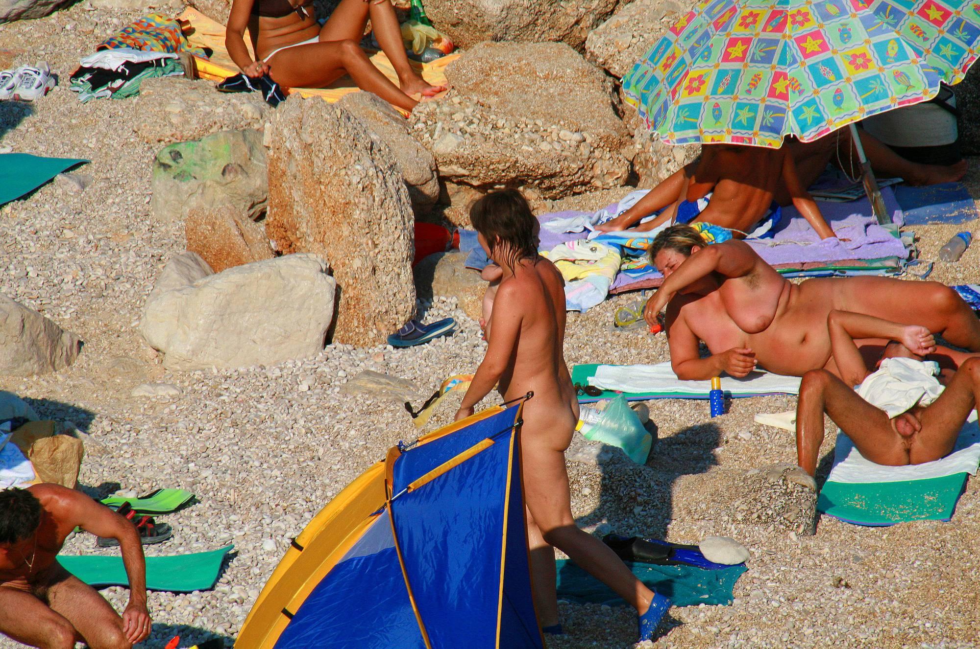 Nudist Photos Ula FKK Beach Field Pass - 2