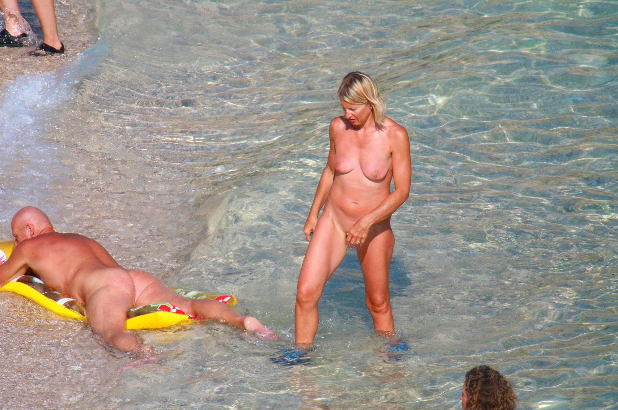 Nudist Pictures Ula FKK Water Floatables - 2