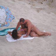 Verna Nudist Couple Flirt
