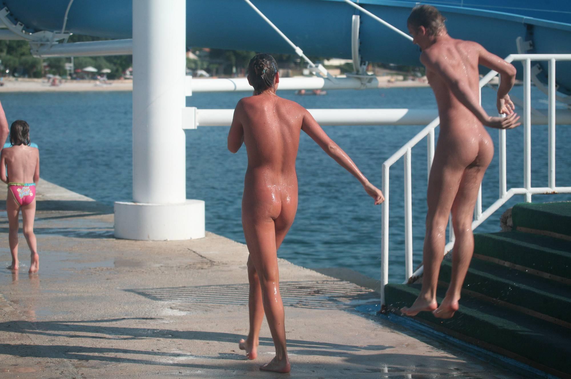 Nudist Pics Water Park Water Slides - 1