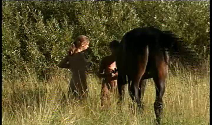 When Horses and Naturists Meet - Naturism in Russia 2000 Series - 2