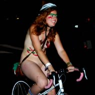 World Naked Bike Ride (WNBR) 2009