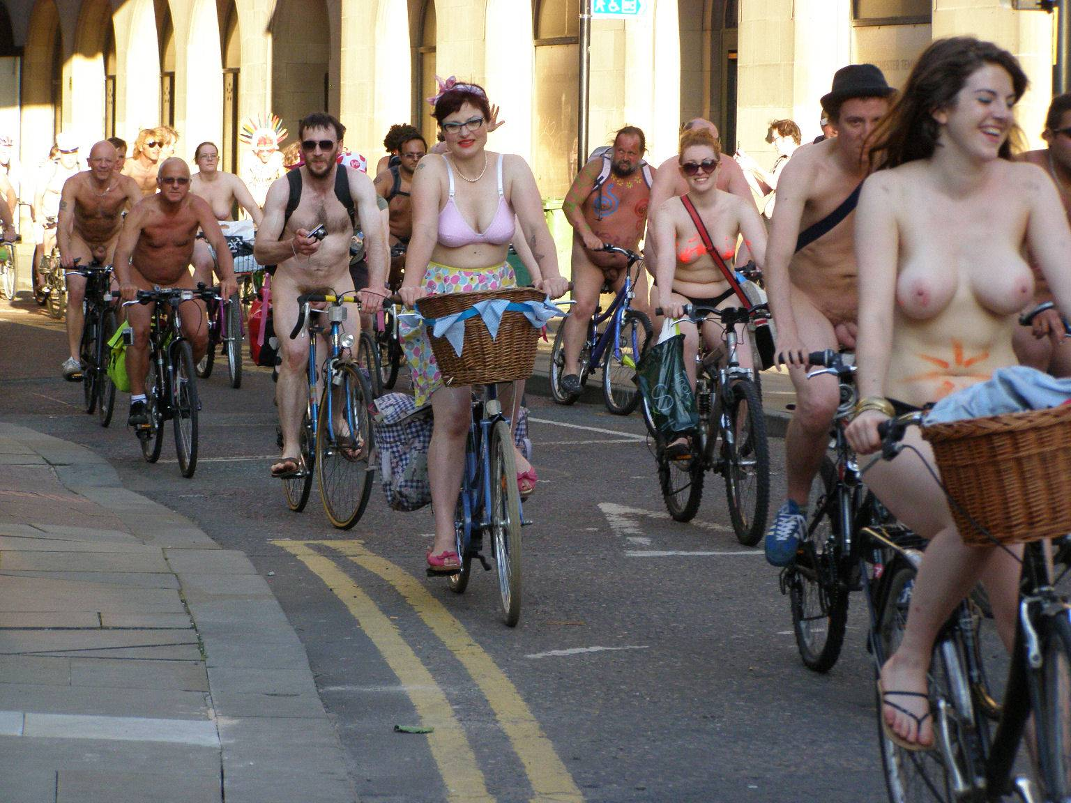 Nudist Pics World Naked Bike Ride (WNBR) 2011 - 1