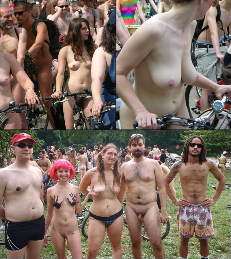 Nudist Pics World Naked Bike Ride [WNBR] UK 2011 - Poster